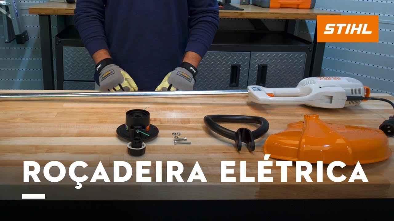 video Roçadeira elétrica FSE 60 Stihl