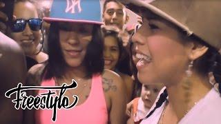 Mestiza & Neblinna Haciendo Freestyle En Barranquilla Colombia Oficial 2014 - Mundo Rap