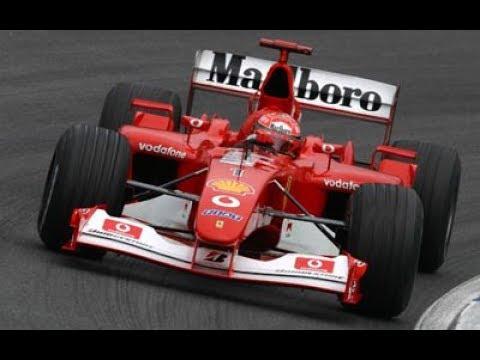 Classic Cars in Motorsport - Part 7 - 2002 Ferrari F2002