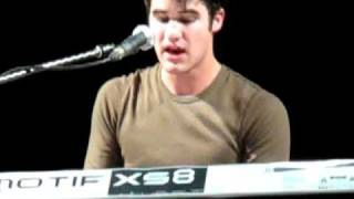 Darren Criss LIVE - Go the distance turned somewhere over the rainbow