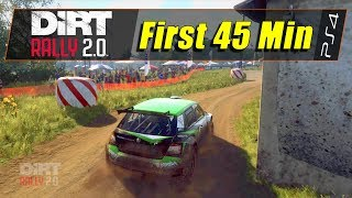 DiRT Rally 2.0: Day One Edition (PS4) - First 45 Min (1080@60)