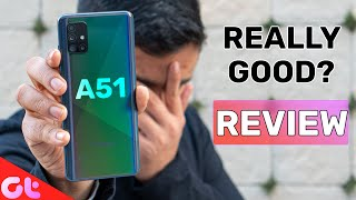 Samsung Galaxy A51 REVIEW After 14 Days | ASLI SACH | GT Hindi