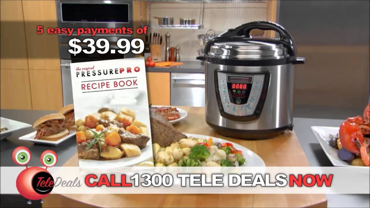 The Incredible Pressure Pro - Pressure Cooker by Teledeals - YouTube