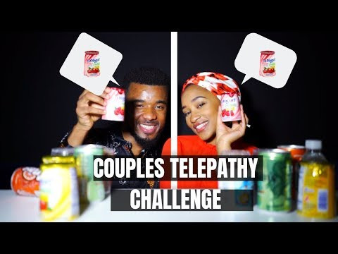 COUPLES TELEPATHY CHALLENGE!! WE WERE MEANT TO BE!