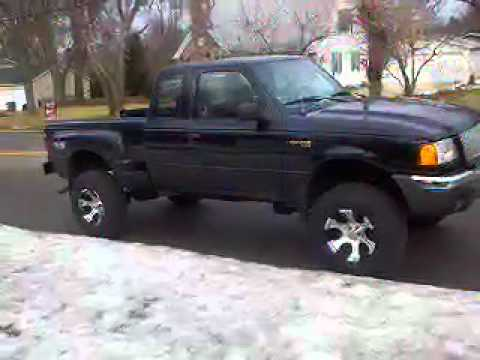 lifted ford ranger body lift and suspension youtube - 2000 Ford Ranger Lifted