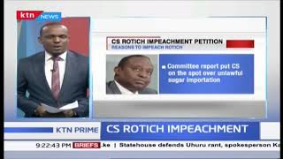 Two Kenyans petition Parliament to impeach CS Henry Rotich over budget, fuel prices