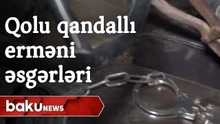 Qolu qandallı erməni əsgərinin sirri - Baku TV