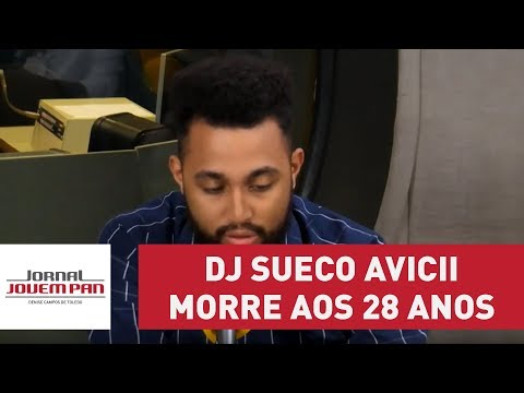DJ sueco Avicii morre aos 28 anos | Jornal Jovem Pan
