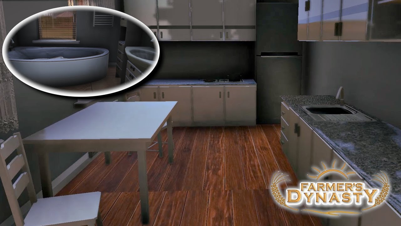 Furniture And Tile Flooring Farmer S Dynasty 23 New House Update