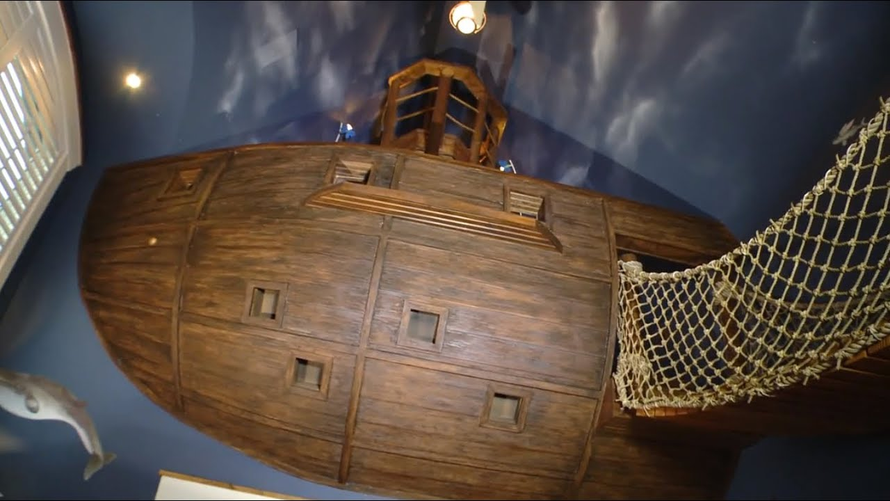 spaced out: pirate bedroom - youtube