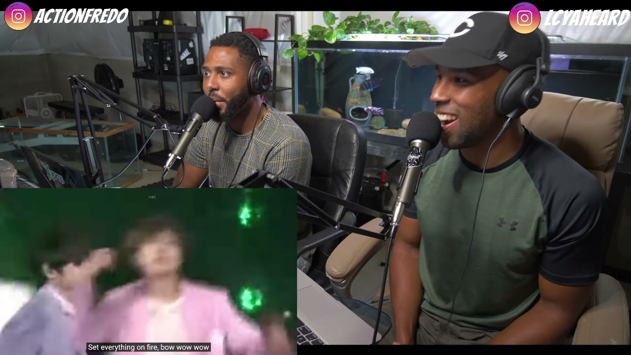 Download LIVE BTS-DOPE, Silverspoon, Fire, Run - Reaction: Higher Faculty