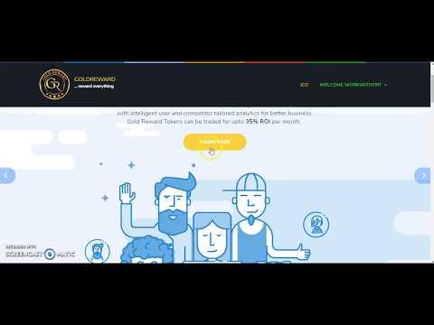 Gold Reward ICO Jump In Now