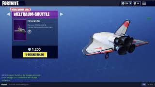 Dark Vanguard/ new Dark Venguard skin Fortnite/ Spacelander, Shuttle 8.4.2018 (SKIN) + SHOP