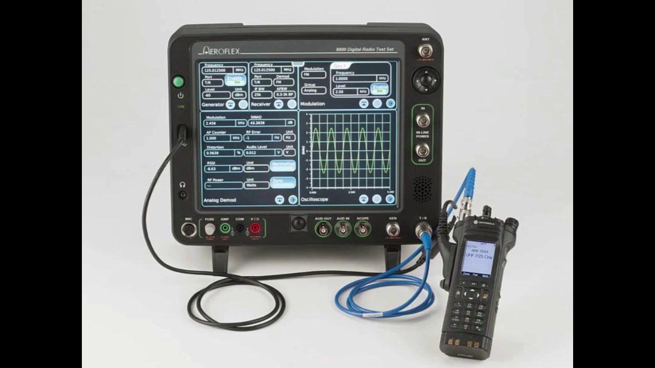 How to Use the AutoTest Feature on the Aeroflex 8800SX Digital Radio Test  Set