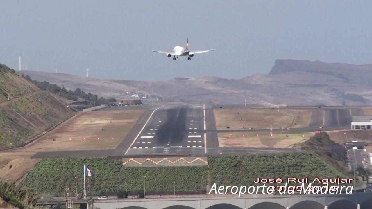 Aviao Falha Pouso No Aeroporto Da Madeira Cristiano Ronaldo Perigo