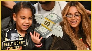 Beyonce and JAY-Z Pay Blue Ivy & The Twins' 'Team Of Nannies' HOW MUCH?! | Daily Denny