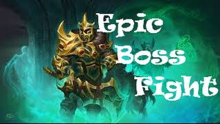 dota 2 epic boss fight solo impossible wk