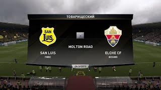 Футбол San Luis Чили Elche CF Испания Виртуальный Кубок Полуфинал 2 й матч FIFA