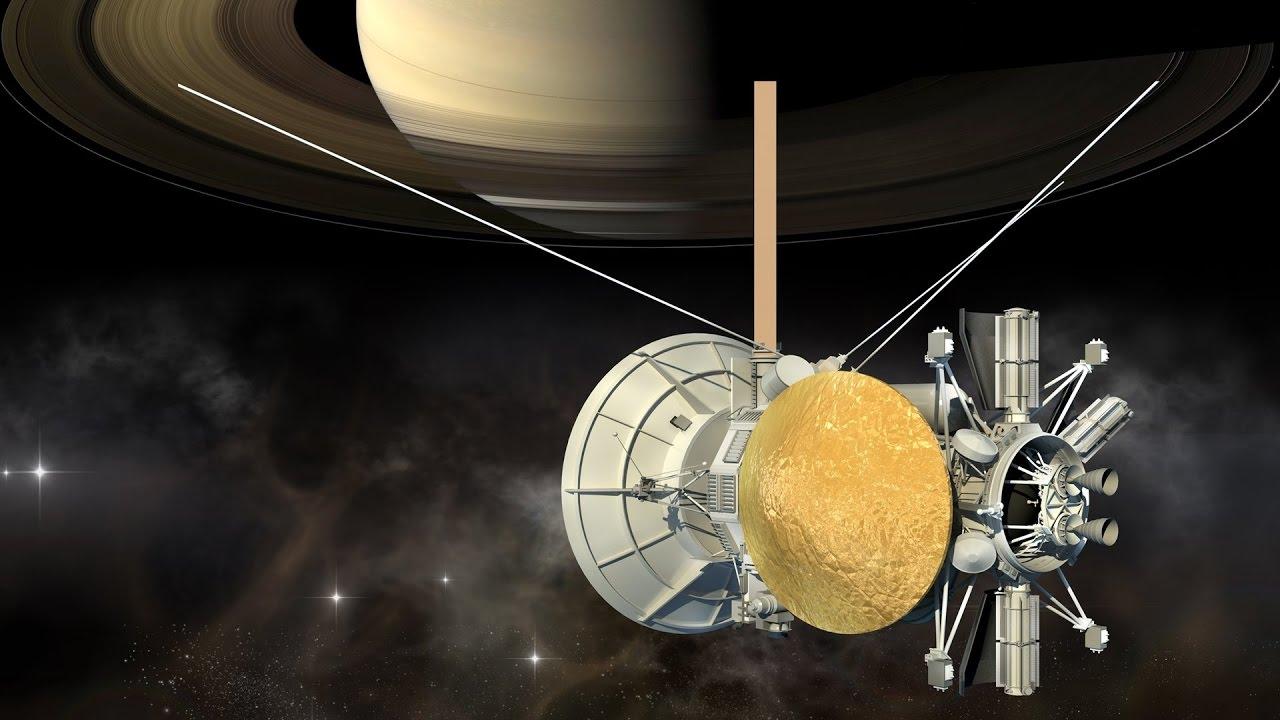 saturn cassini spacecraft - 1280×720