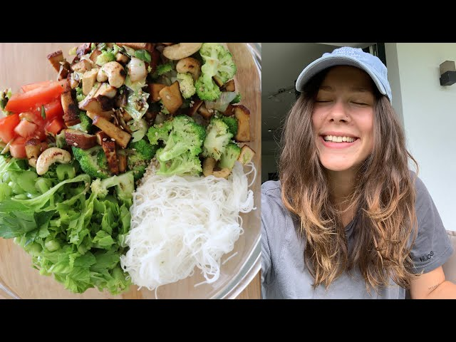 What I eat in a day as a VEGAN | 3 Rezepte