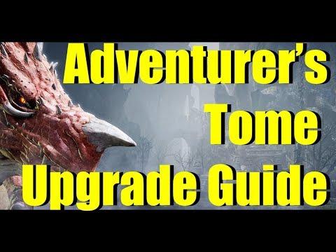 BDO Adventurer's Tome Upgrade Guide to Chenga - Sherekhan Tome of Wisdom