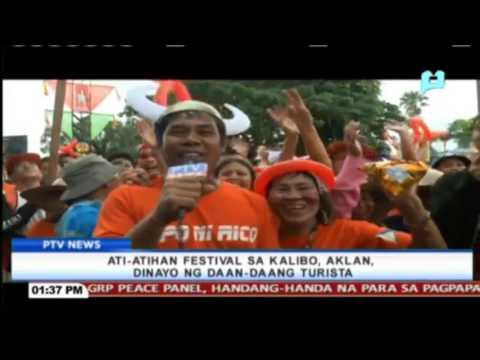 Ati-atihan Festival sa Kalibo, Aklan, dinayo ng daan-daang turista