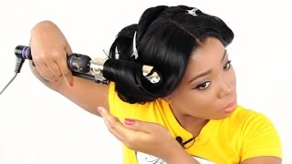Beach Wave Hairstyle For Lace Closure Sew In Tutorial – (Part 5 of 7)