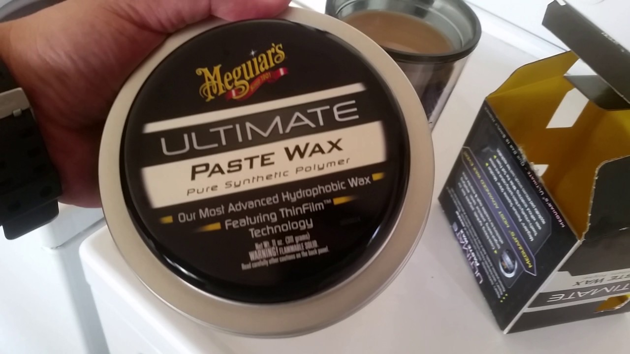 Image result for Meguiar's Ultimate Paste Wax