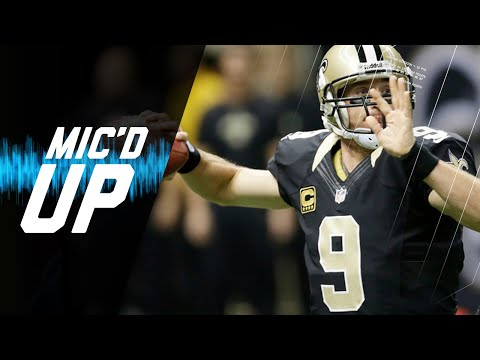 Drew Brees vs. Panthers Mic