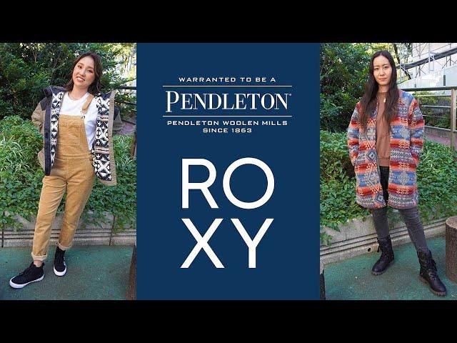 PENDLETON × ROXY コラボ/アウター(ジャケット)