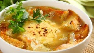 Суп для похудения. Французский луковый суп