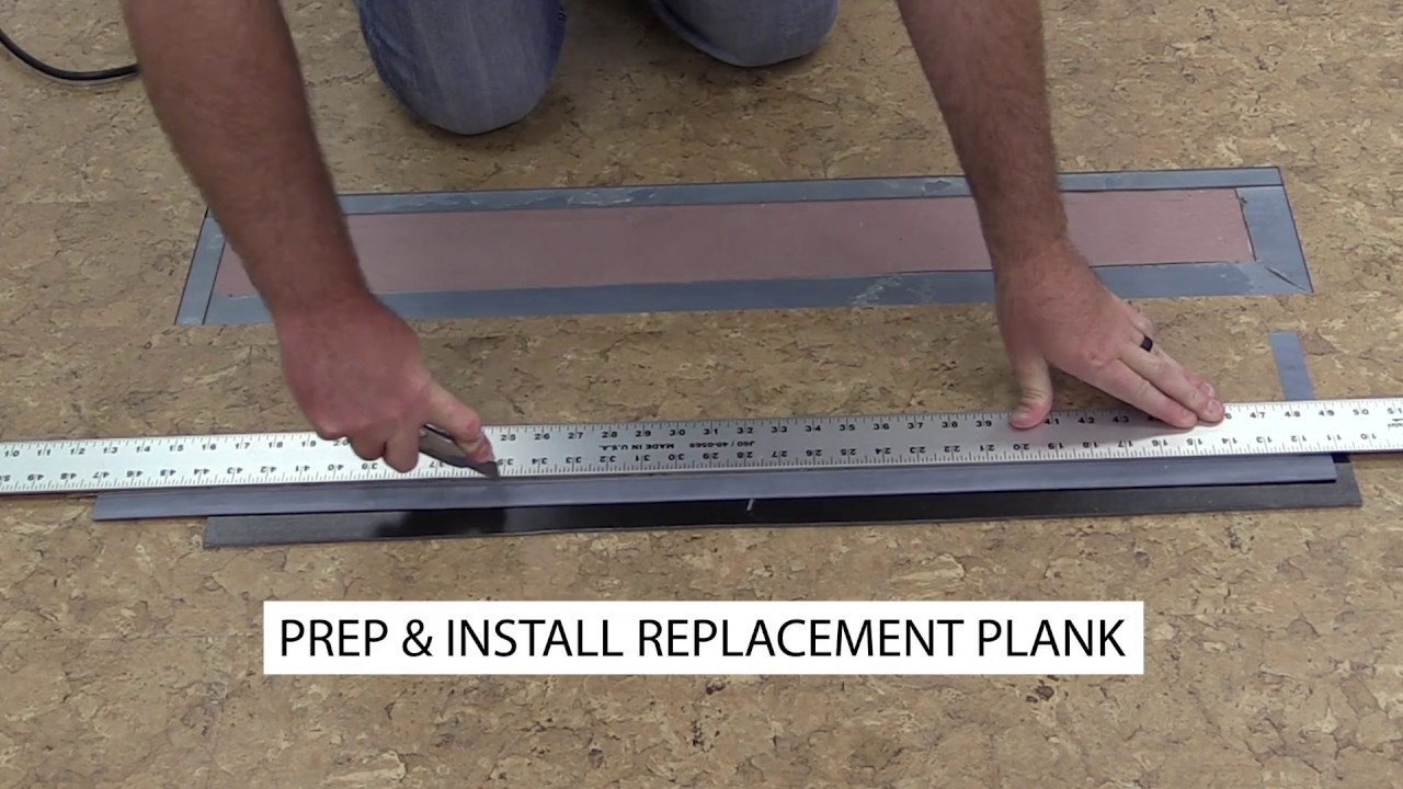 How To Replace Gripstrip Vinyl Flooring Youtube