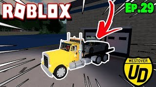 Roblox: Ultimate Driving #29-bought a broken car!!!