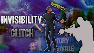 *NEW* Fortnite Season 9 Invisibility Glitch