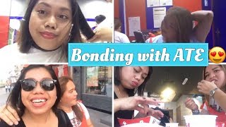 Sisters bonding|nagpa salon|kumain sa KFC|vlog 35