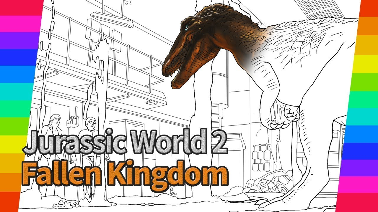 Jurassic World 2 Movie Drawing Vol 3 How To Draw Drawing And
