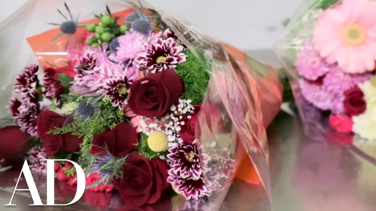 How To Design A Flower Arrangement From A Pre Made Bouquet With