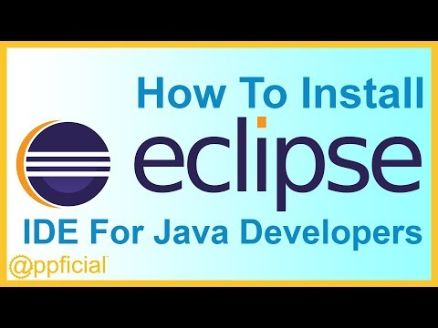 How to Download and Install the Eclipse IDE for Java Developers and Run Hello World - Appficial
