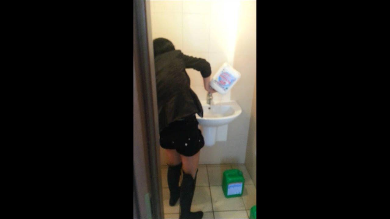 Камера мужской туалет