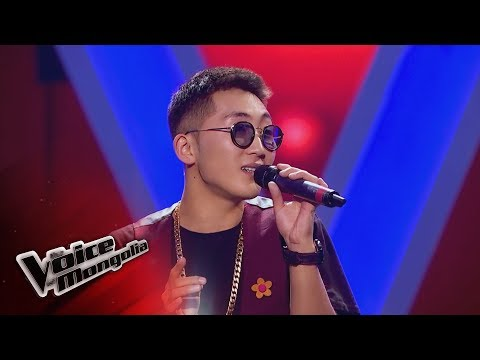 """Iderbat.A- """"Zuudendee bi hairtai"""" - Blind Audition - The Voice of Mongolia 2018"""