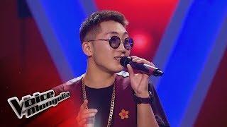 "Iderbat.A- ""Zuudendee bi hairtai"" - Blind Audition - The Voice…"