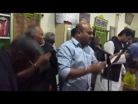 Darbar e reza Chittoor AP Baquer Nawaz 2016/1438 Moharram 21