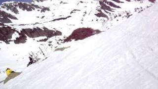 Skiing with Sylvain Saudan in Brevent part 5.MPG