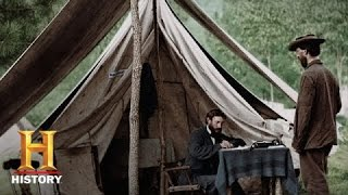 Blood and Glory: The Civil War in Color: Lincoln's Emancipation Proclamation | History