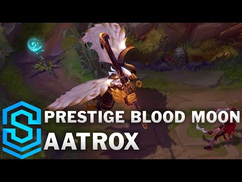 Prestige Blood Moon Aatrox Skin Spotlight - League of Legends