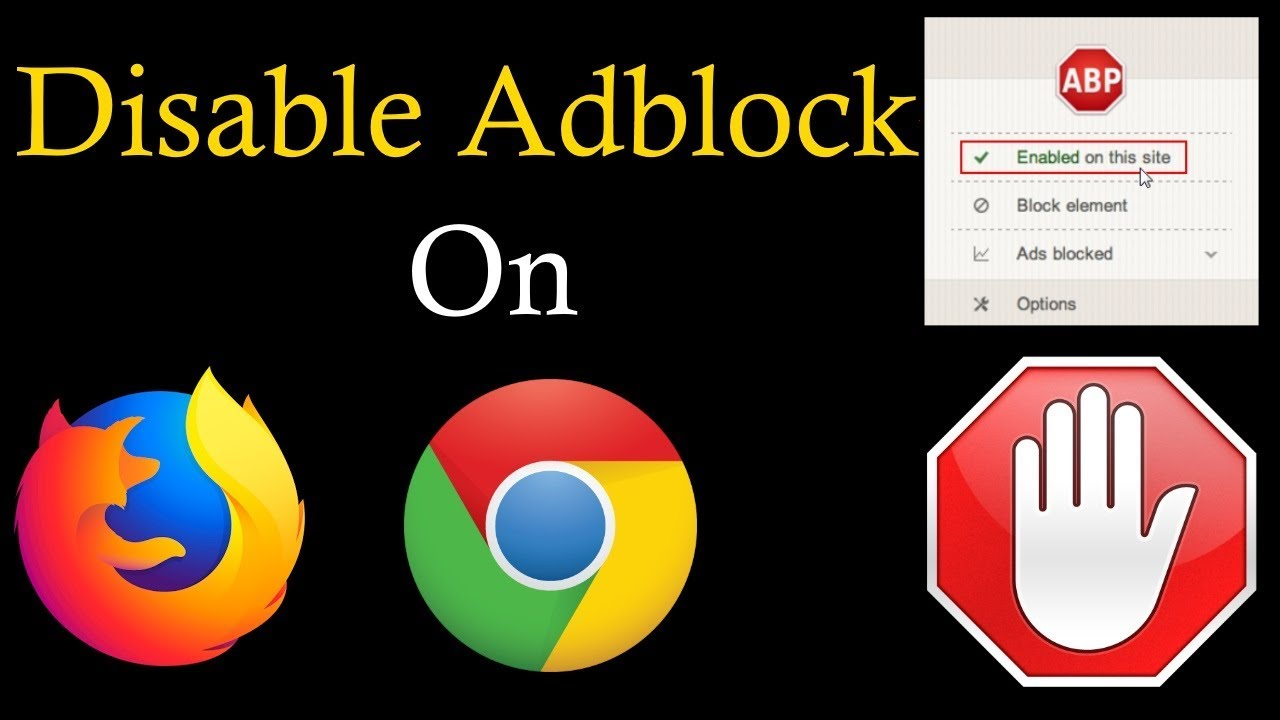How To Disable Adblock? | PCGUIDE4U