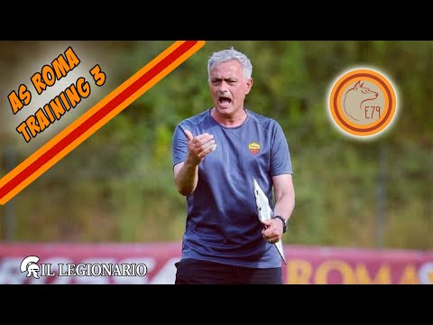 AS ROMA a week of TRAINING