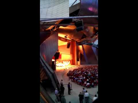 Chicago symphony at Millennium Park