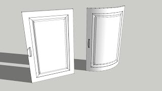 Video Sketchup tutorial easy Shape bender tool - bending doors download MP3, 3GP, MP4, WEBM, AVI, FLV Desember 2017