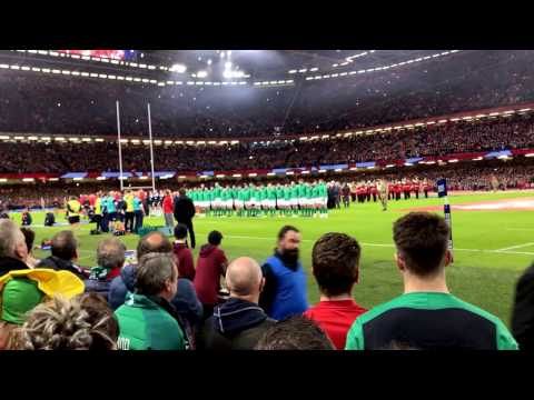 """""""Hen Wlad Fy Nhadau"""" (The Land Of My Fathers) - 2017 RBS Six Nations Wales V Ireland"""